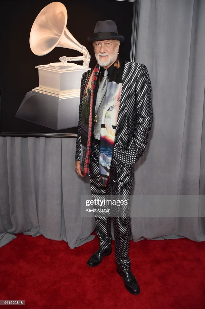 Recording artist Mick Fleetwood attends the 60th Annual GRAMMY Awards at Madison Square Garden on January 28, 2018 in New York City.