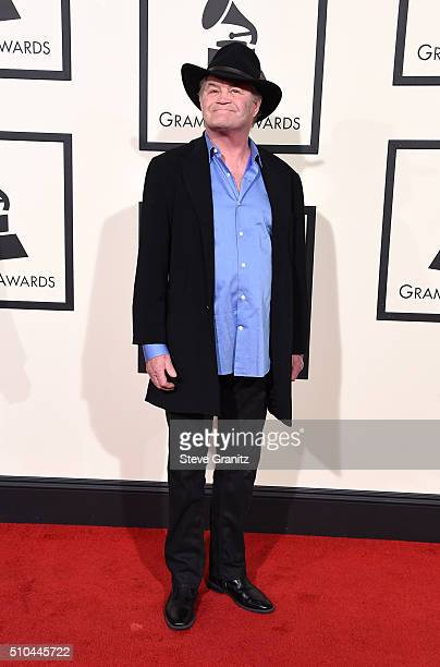 Recording artist Micky Dolenz of music group The Monkees attends The 58th GRAMMY Awards at Staples Center on February 15 2016 in Los Angeles...