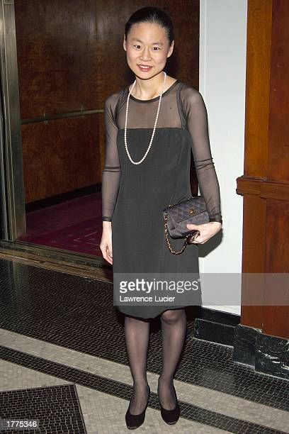 Recording artist Midori arrives at the New Yorker for the New York Awards on February 10 at the Waldorf Astoria in New York City