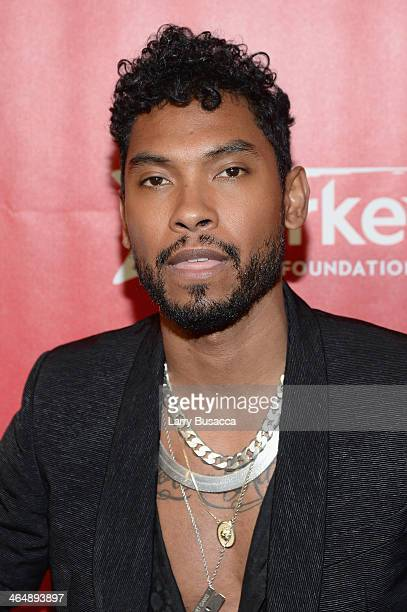 Recording artist Miguel attends 2014 MusiCares Person Of The Year Honoring Carole King at Los Angeles Convention Center on January 24, 2014 in Los...