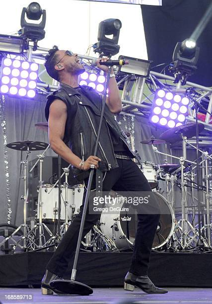 Recording artist Miguel performs at 102.7 KIIS FM's Wango Tango at The Home Depot Center on May 11, 2013 in Carson, California.