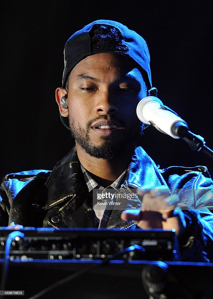 Recording artist Miguel performs onstage during the rehearsals for The GRAMMY Nominations Concert Live!! Countdown to Music's Biggest Night at Nokia Theatre L.A. Live on December 5, 2013 in Los Angeles, California.