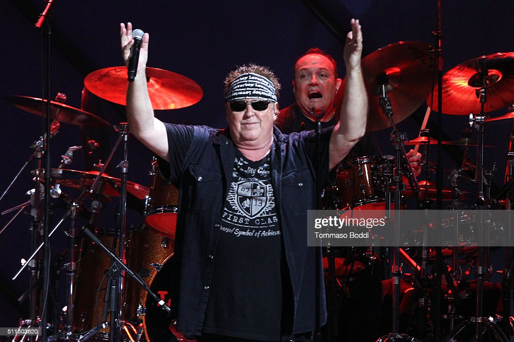 Recording artist Mike Reno of music group Loverboy performs on stage during the iHeart80s Party 2016 at The Forum on February 20, 2016 in Inglewood, California.