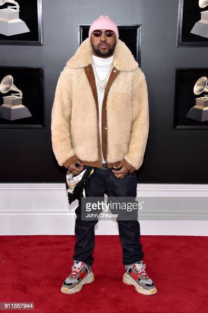 Recording artist Mike Will Made It attends the 60th Annual GRAMMY Awards at Madison Square Garden on January 28 2018 in New York City