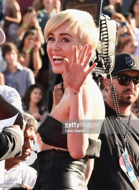 Recording artist Miley Cyrus attends the 2014 MTV Video Music Awards at The Forum on August 24 2014 in Inglewood California