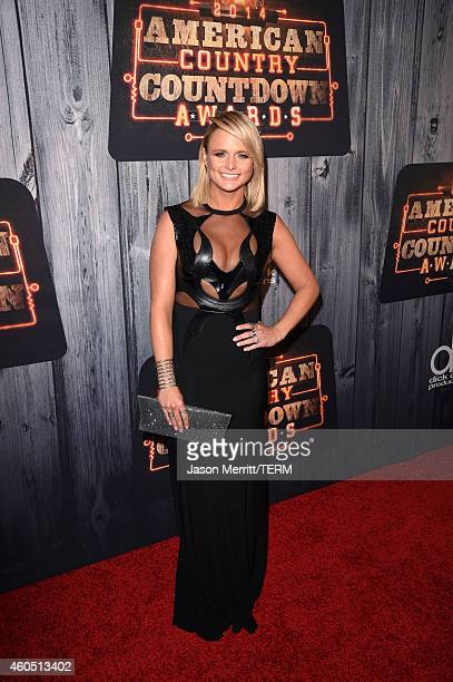 Recording artist Miranda Lambert attends the 2014 American Country Countdown Awards at Music City Center on December 15 2014 in Nashville Tennessee