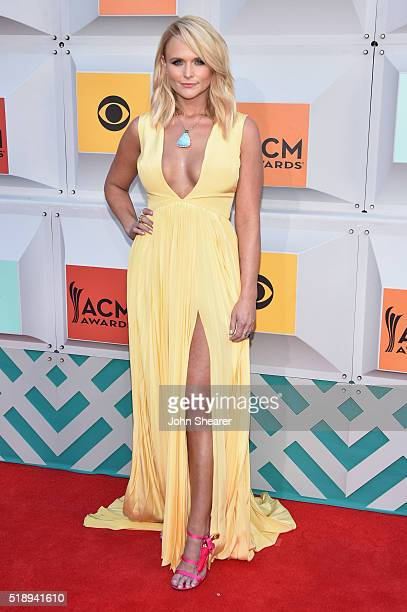 Recording artist Miranda Lambert attends the 51st Academy of Country Music Awards at MGM Grand Garden Arena on April 3 2016 in Las Vegas Nevada
