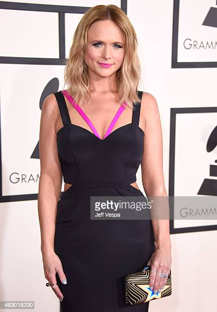 Recording artist Miranda Lambert attends The 57th Annual GRAMMY Awards at the STAPLES Center on February 8 2015 in Los Angeles California