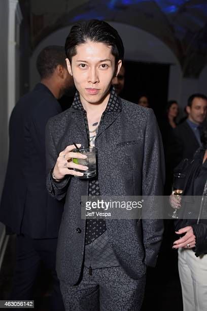 Recording artist Miyavi attends GQ and Giorgio Armani Grammys After Party at Hollywood Athletic Club on February 8 2015 in Hollywood California