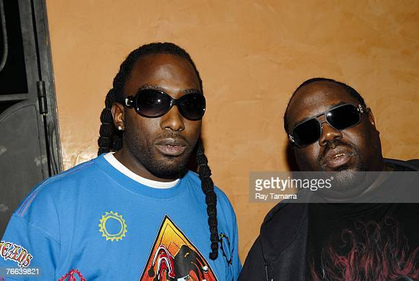 Recording artist MJG and 8Ball attend the 2007 BMI Urban Awards at the New YorkNew York Hotel and Casino September 07 2007 in Las Vegas Nevada