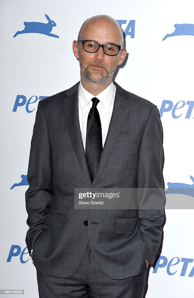 Recording artist Moby attends PETA's 35th Anniversary Party at Hollywood Palladium on September 30, 2015 in Los Angeles, California.