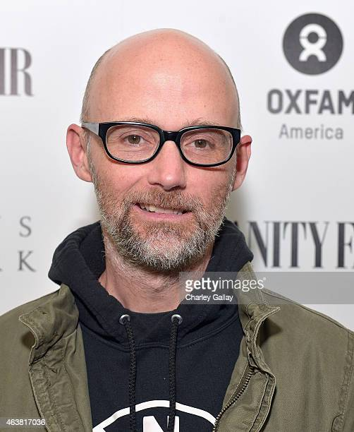 Recording artist Moby attends VANITY FAIR and Barneys New York Dinner benefiting OXFAM hosted by Rooney Mara at Chateau Marmont on February 18 2015...