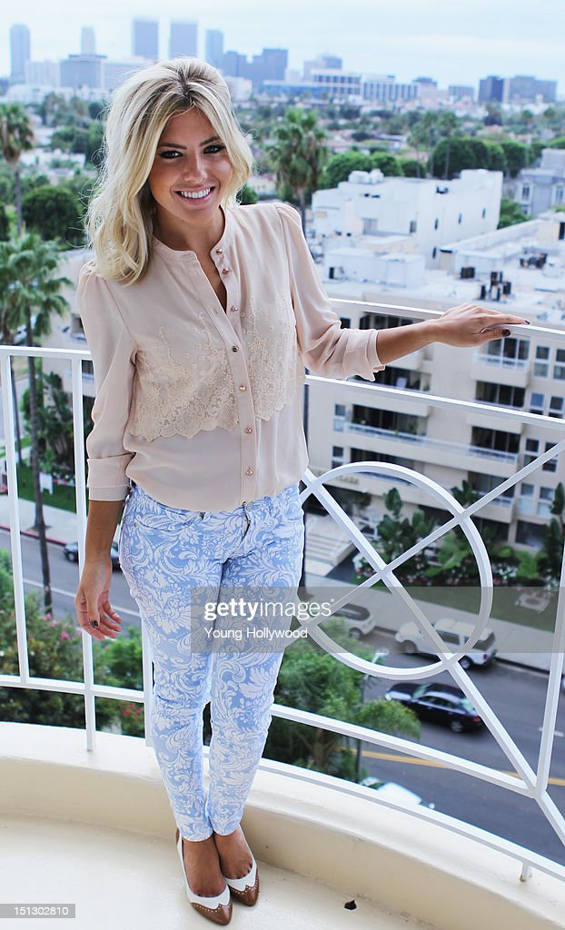 recording artist mollie king of the saturdays visits the young