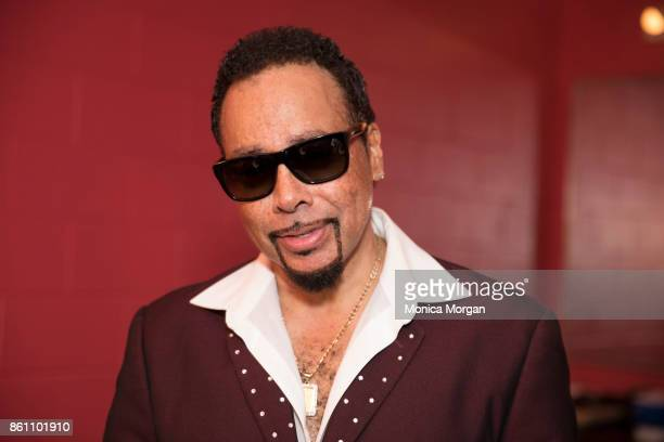 Recording Artist Morris Day backstage at Chene Park on August 23 2017 in Detroit Michigan