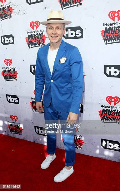 Recording artist Mr Hudson attends the iHeartRadio Music Awards at The Forum on April 3 2016 in Inglewood California