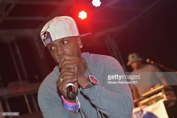 Recording Artist Mystikal performs at BET Music Matters A3c Showcase on October 10 2014 in Atlanta Georgia
