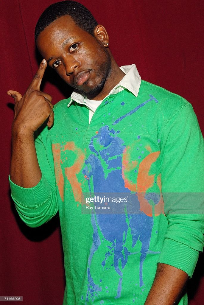Recording artist Naledge attends Slick Rick's concert at B.B. King Blues Club July 16, 2006 in New York City.