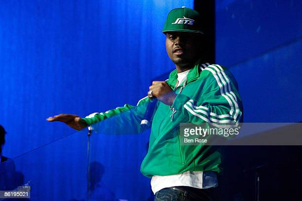 Recording Artist Nas performs onstage during the BMI 12th annual Unsigned Urban Showcase at E.S.S.O. Nightclub on April 23, 2009 in Atlanta, Georgia.