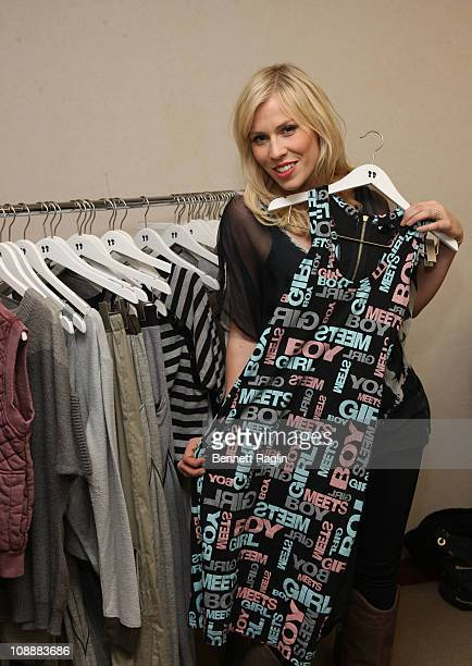 Recording artist Natasha Bedingfield attends a fitting at Boy Meets Girl on February 7 2011 in New York City