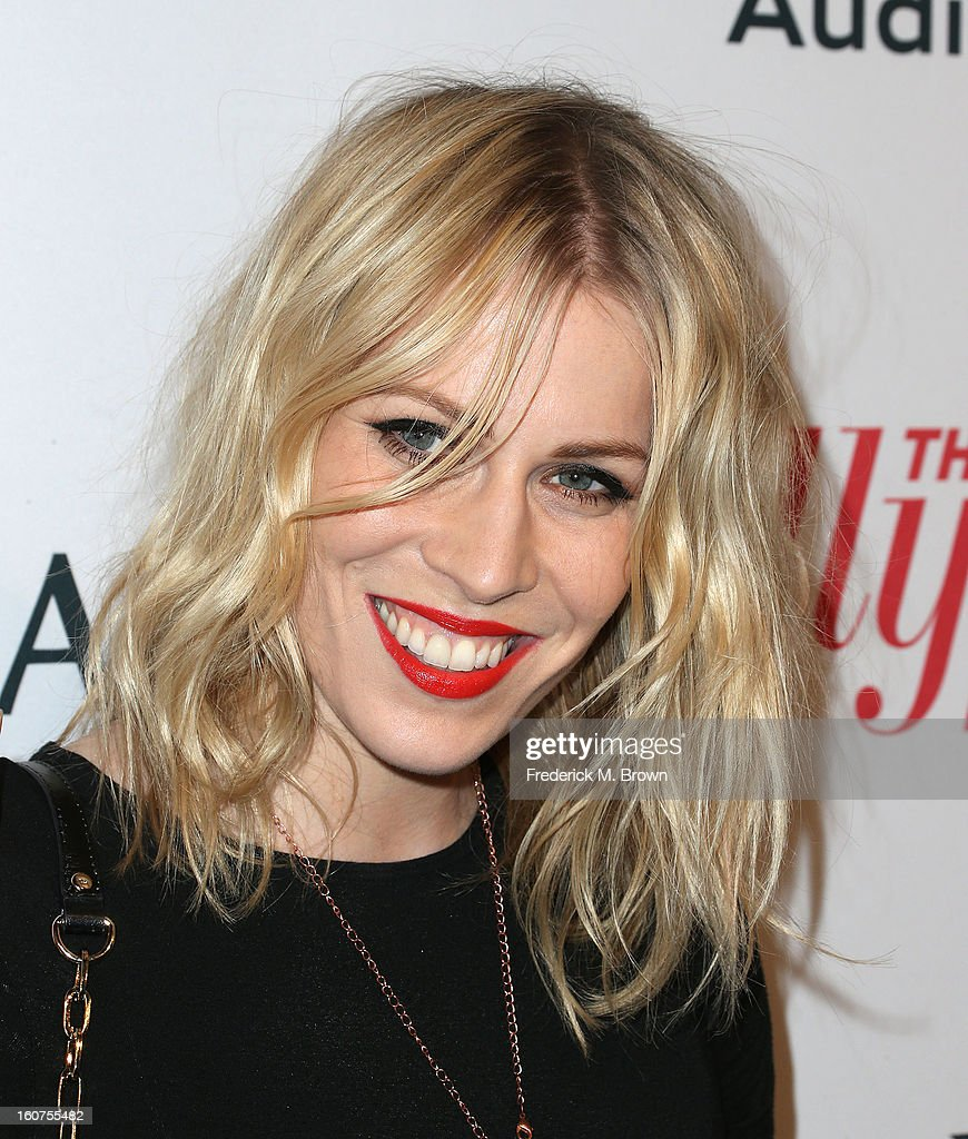 Recording artist Natasha Bedingfield attends The Hollywood Reporter Nominees' Night 2013 Celebrating The 85th Annual Academy Award Nominees at Spago on February 4, 2013 in Beverly Hills, California.