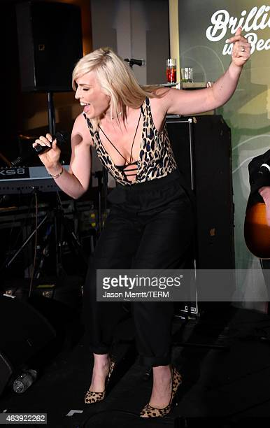 Recording artist Natasha Bedingfield performs at the 8th annual Hollywood Domino Gala presented by BOVET 1822 benefiting Artists for Peace and...