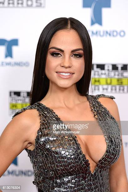 Recording artist Natti Natasha attends the 2016 Latin American Music Awards at Dolby Theatre on October 6 2016 in Hollywood California