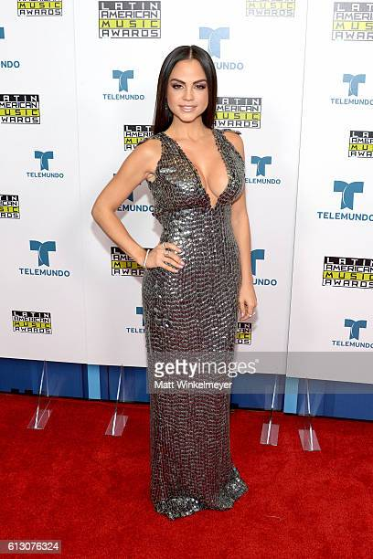 Recording artist Natti Natasha attends the 2016 Latin American Music Awards at Dolby Theatre on October 6, 2016 in Hollywood, California.