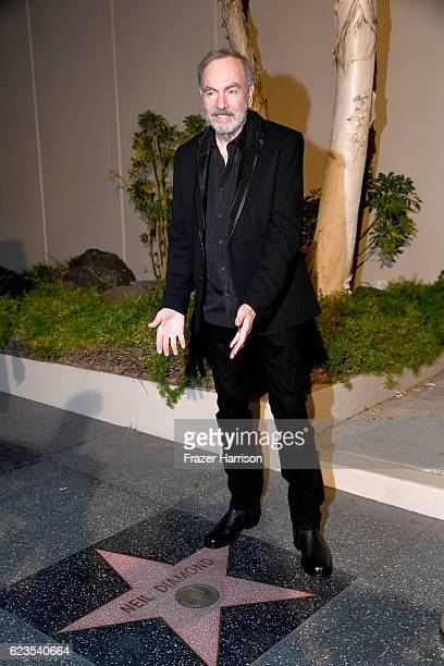 Recording artist Neil Diamond attends Capitol Records 75th Anniversary Gala at Capitol Records Tower on November 15 2016 in Los Angeles California