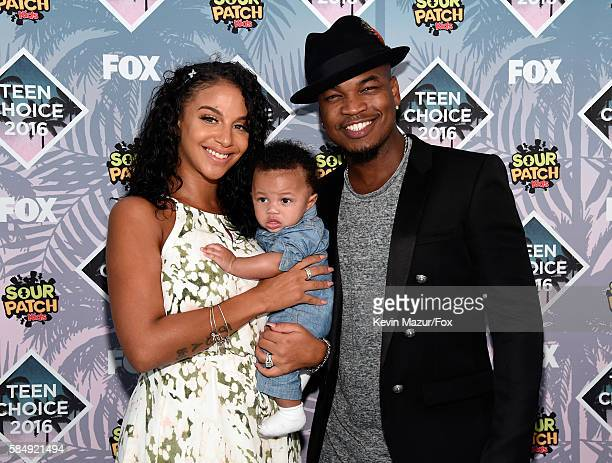 Recording artist NeYo and Crystal Renay attend Teen Choice Awards 2016 at The Forum on July 31 2016 in Inglewood California