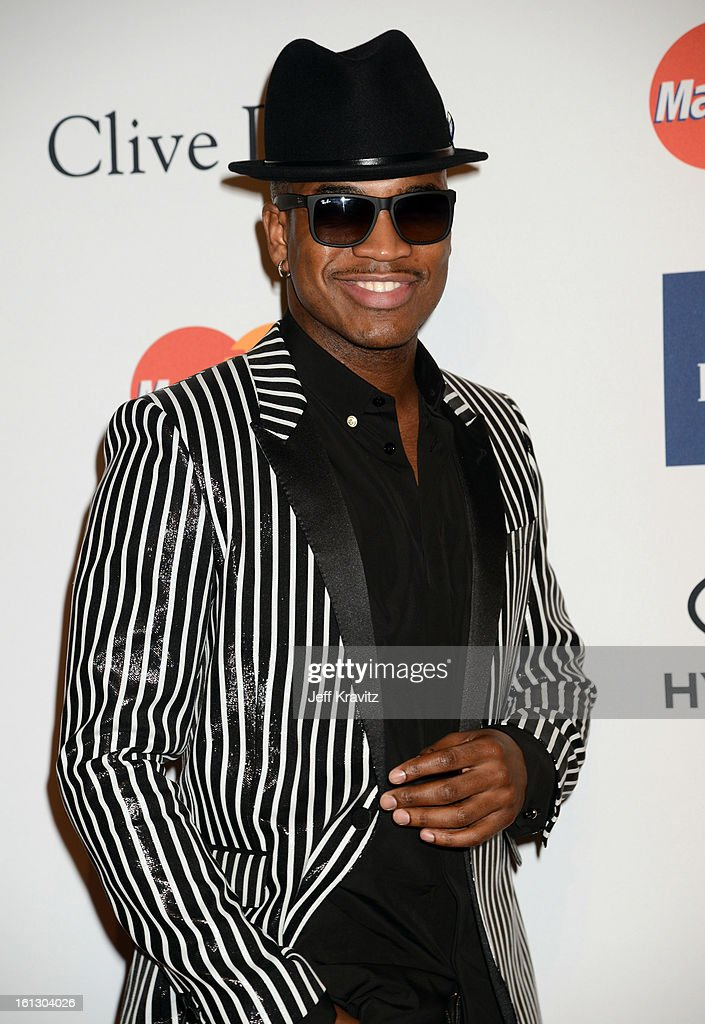 Recording artist Ne-Yo arrives at Clive Davis and The Recording Academy's 2013 GRAMMY Salute to Industry Icons Gala held at The Beverly Hilton Hotel on February 9, 2013 in Beverly Hills, California.
