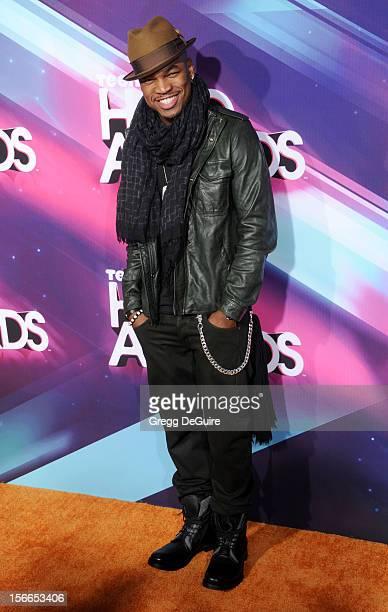 Recording artist Ne-Yo arrives at the TeenNick HALO Awards at The Hollywood Palladium on November 17, 2012 in Los Angeles, California.