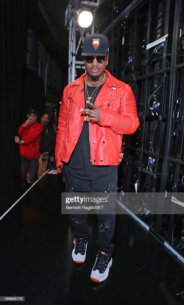 Recording artist Ne-Yo attends 106 & Park at BET studio on December 17, 2014 in New York City.