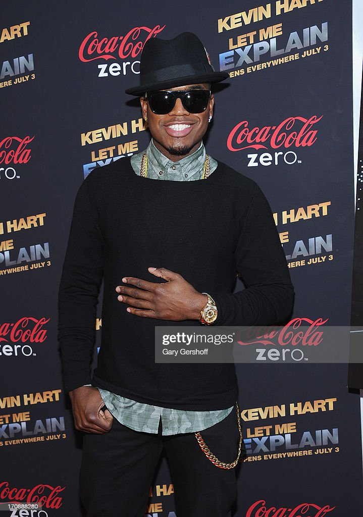 R & B recording artist Ne-Yo attends 'Kevin Hart:Let Me Explain' New York Premiere at Regal Cinemas Union Square on June 19, 2013 in New York City.