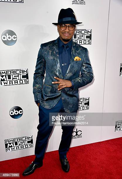 Recording artist NeYo attends the 2014 American Music Awards at Nokia Theatre LA Live on November 23 2014 in Los Angeles California