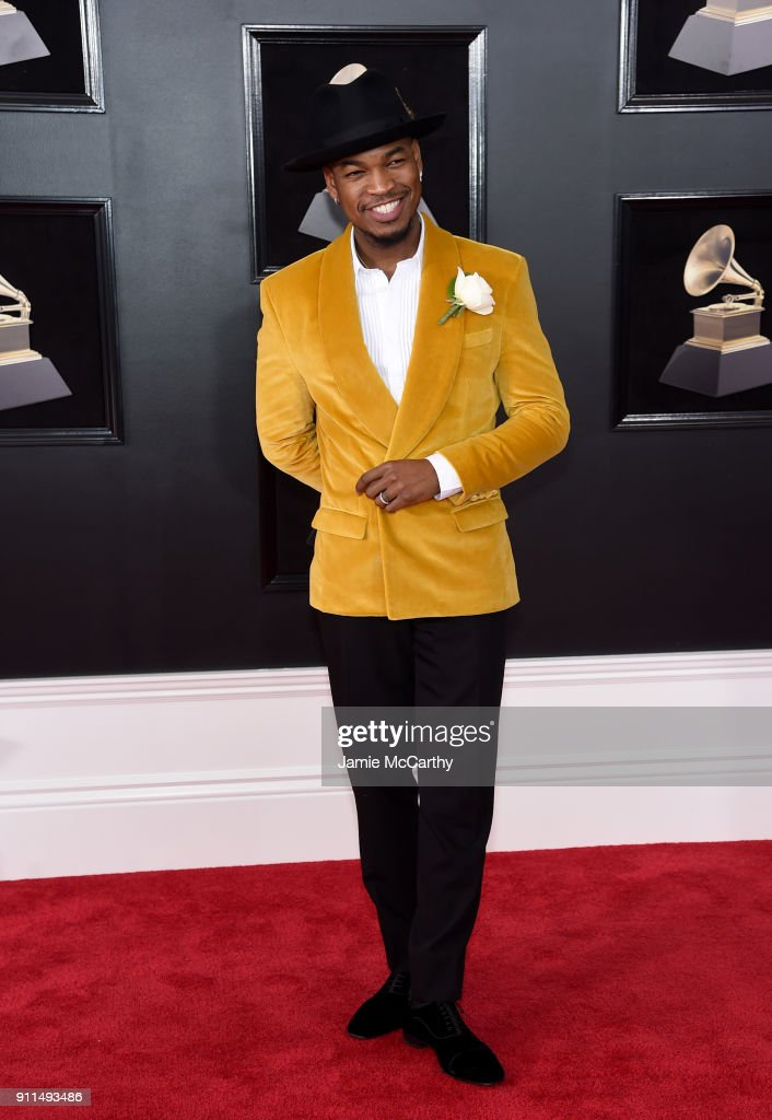 Recording artist Ne-Yo attends the 60th Annual GRAMMY Awards at Madison Square Garden on January 28, 2018 in New York City.