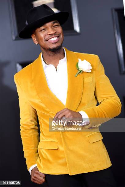 Recording artist NeYo attends the 60th Annual GRAMMY Awards at Madison Square Garden on January 28 2018 in New York City