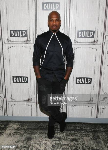 """Recording artist NE-YO attends the Build series to discuss the """"World of Dance"""" at Build Studio on May 30, 2017 in New York City."""