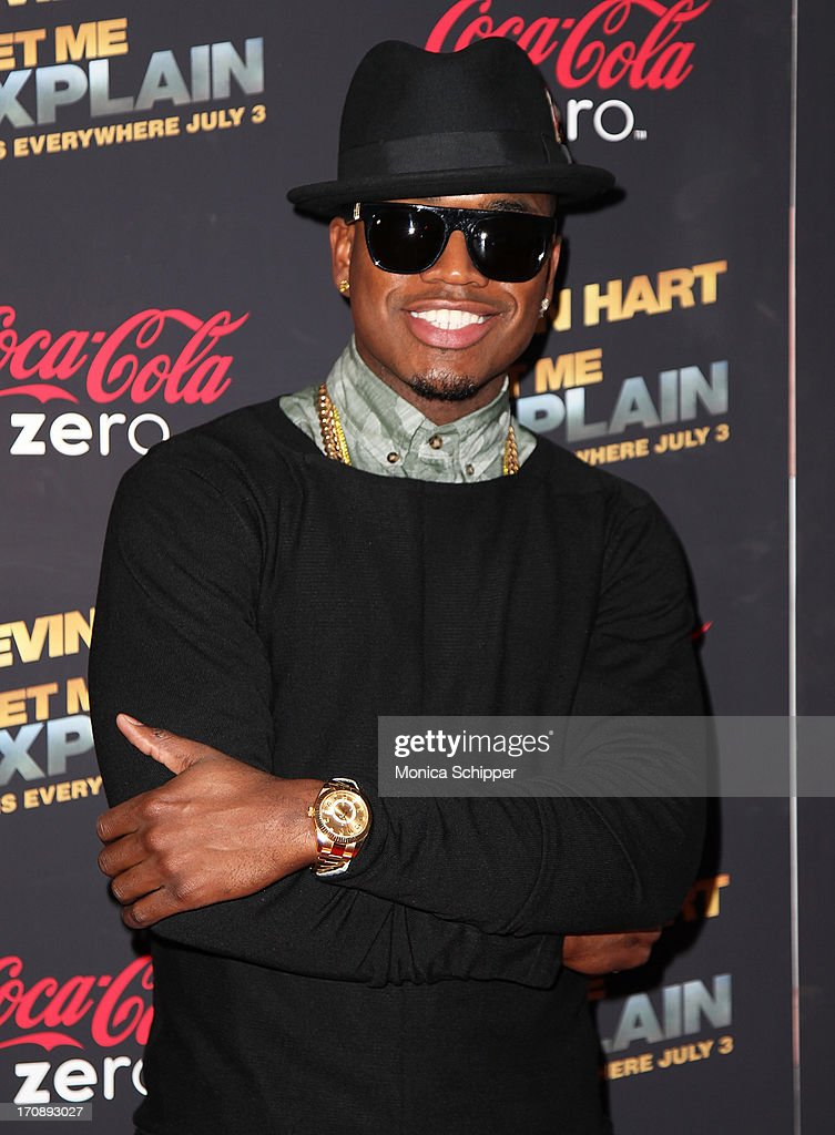 R & B recording artist Ne-Yo attends the 'Kevin Hart:Let Me Explain' premiere at Regal Cinemas Union Square on June 19, 2013 in New York City.
