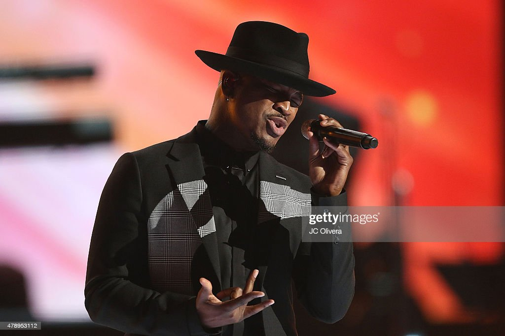 Recording artist Ne-Yo performs on stage at the 2015 BET Awards on June 28, 2015 in Los Angeles, California.