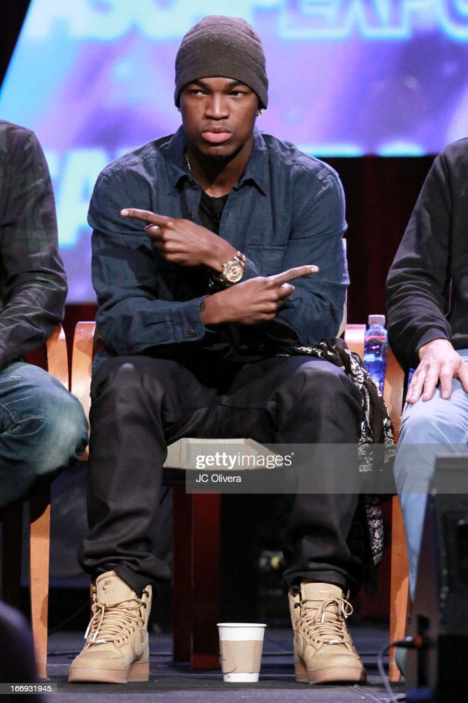 Recording artist Ne-Yo speaks at the 8th Annual ASCAP 'I Create Music' EXPO at Loews Hollywood Hotel on April 18, 2013 in Hollywood, California.