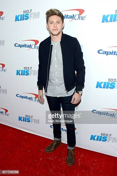 Recording artist Niall Horan attends 1027 KIIS FM's Jingle Ball 2016 at Staples Center on December 2 2016 in Los Angeles California