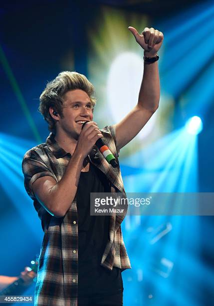 Recording artist Niall Horan of music group One Direction performs onstage during the 2014 iHeartRadio Music Festival at the MGM Grand Garden Arena...