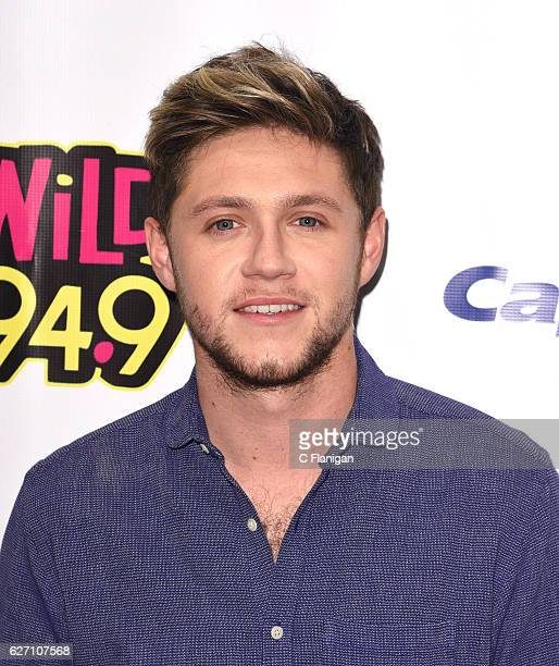 Recording artist Niall Horan poses in the press room during the WiLD 949 iHeartRadio Jingle Ball at SAP Center on December 1 2016 in San Jose...
