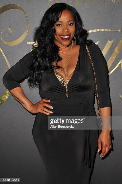 Recording artist Nicci Gilbert attends EBONY Magazine and iTunes Movies' 2nd Annual PreOscar Celebration at Delilah on February 23 2017 in West...