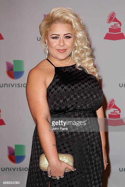 Recording artist Nichole Ray attends the 15th annual Latin GRAMMY Awards at the MGM Grand Garden Arena on November 20 2014 in Las Vegas Nevada