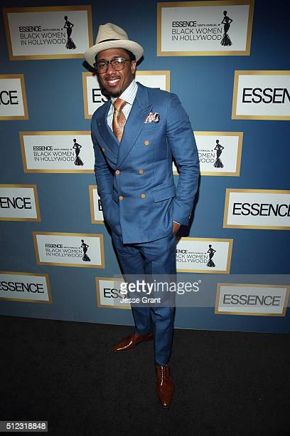 Recording artist Nick Cannon attends the 2016 ESSENCE Black Women In Hollywood awards luncheon at the Beverly Wilshire Four Seasons Hotel on February...