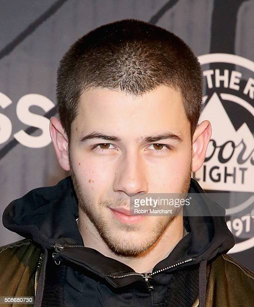 Recording artist Nick Jonas attends ESPN The Party on February 5 2016 in San Francisco California