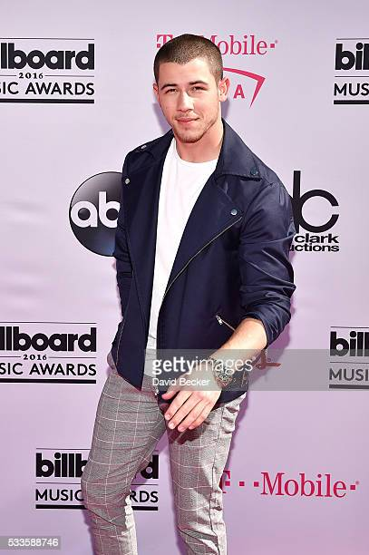 Recording artist Nick Jonas attends the 2016 Billboard Music Awards at TMobile Arena on May 22 2016 in Las Vegas Nevada