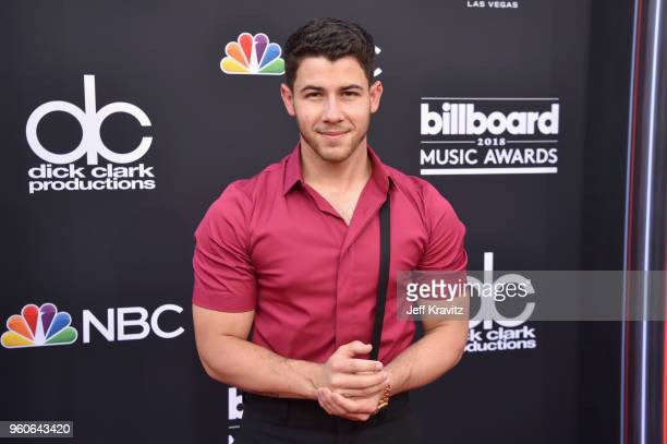 Recording artist Nick Jonas attends the 2018 Billboard Music Awards at MGM Grand Garden Arena on May 20 2018 in Las Vegas Nevada