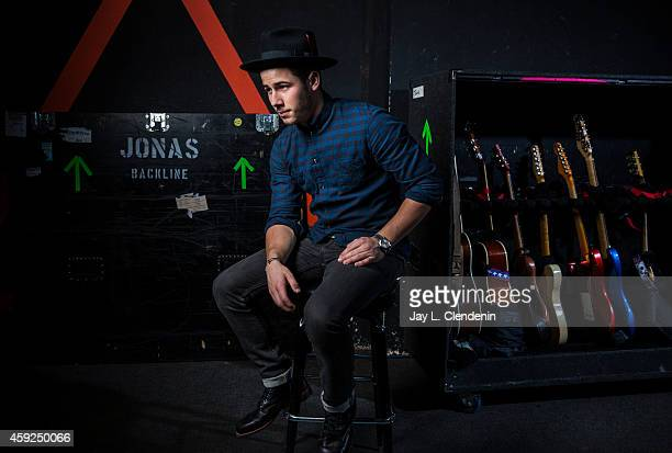 Recording artist Nick Jonas is photographed for Los Angeles Times on October 29 2014 in Los Angeles California PUBLISHED IMAGE CREDIT MUST READ Jay L...
